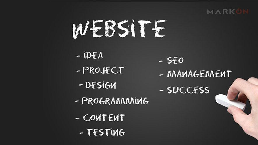 web sitesi özellikleri